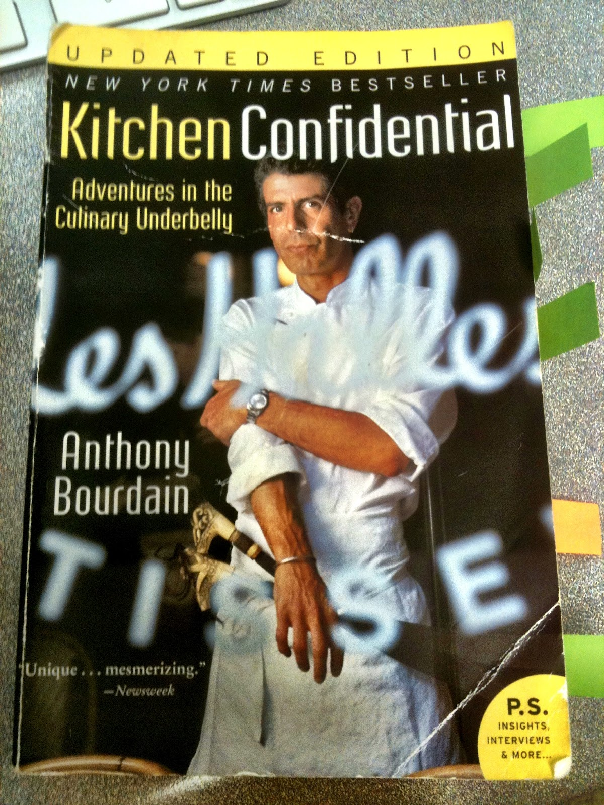 Gentil Eat Your Words: Anthony Bourdainu0027s Kitchen Confidential | Feast With Me